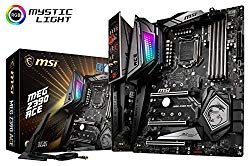 MSI MEG Z390 ACE LGA1151 (Intel 8th and 9th Gen) M.2 USB 3.1 Gen 2 DDR4 Wi-Fi SLI CFX ATX Z390 Gaming Motherboard