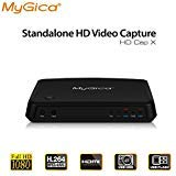 MyGica Hdmi Video Capture 1080P Recorders with Hdmi Input, Record PS2/3,PS4, Xbox One and Xbox 360, Live TV, Game Box, Capture Analog Video to Digital, Convert VHS Composite and YpbPr Input