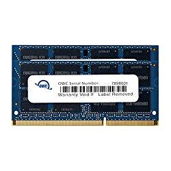 OWC 16GB (2x 8GB) 1333Mhz PC3-10600 DDR3 SO-DIMM 204-Pin Memory Upgrade Kit