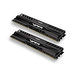 Patriot 16GB(2x8GB) Viper III DDR3 1866MHz (PC3 15000) CL10 Desktop Memory With Black Mamba Heatsink – PV316G186C0K