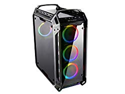 Cougar Panzer Evo RGB Tempered Glass Mid Tower RGB LED Gaming Case with Remote Control