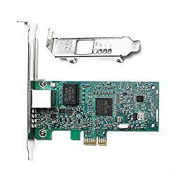 TOTOVIN Broadcom NetXtreme 10/100/1000Mbps Gigabit Desktop PCI-E Network Card – BCM5751 NIC