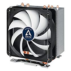 ARCTIC Freezer 33 – Semi Passive CPU Tower Cooler with 120 mm PWM Fan for Intel 115X/2011-3 & AMD AM4 – German Semi Passive Fan Controller – PWM Sharing Technology (PST)