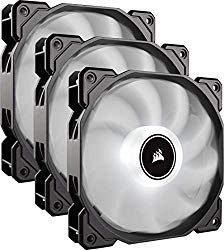 Corsair Af120 LED Low Noise Cooling Fan Triple Pack – White Cooling CO-9050082-WW