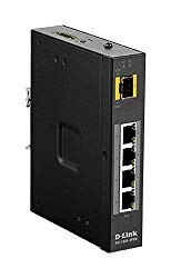 D-Link DIS-100G-5PSW Industrial Gigabit Unmanaged Poe Switch with SFP Slot