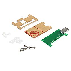 Raspberry Pi Zero W USB-A Addon Board V1.1 No Data Line Required Plug in Then Play Provide A Full Sized, USB Type-A Connector with Protective Acrylic Case for Raspberry Pi Zero or Zero W