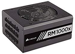 CORSAIR RMx Series, RM1000x, 1000 Watt, 80+ Gold Certified, Fully Modular Power Supply