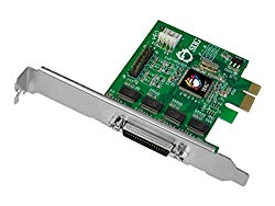 SIIG DP CyberSerial 4S PCIe Serial Adapter PCI Express 1.1 x1 Low Profile RS-232 Silver (JJ-E40011-S4)