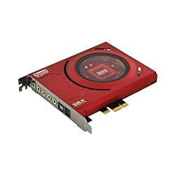 Creative Labs 70SB150000000 Sound Blaster Z Sound Card 5.1 Channels 24-bit PCI Express