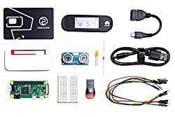 Soracom Cellular IoT Starter Kit with Raspberry Pi Zero WH and IoT Sim Card | Dongle and 9 Essential Accessories | Create IoT Development Cellular Connect Products | 16 GB