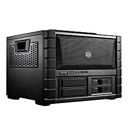 Cooler Master HAF XB EVO – High Air Flow Test Bench and LAN Box Desktop Computer Case with ATX Motherboard Support