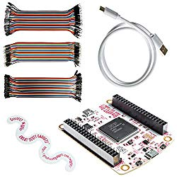 NooElec Great Scott Gadgets GreatFET One Bundle – Hi-Speed USB Peripheral, Logic Analyzer, Debugger and Development Board. Open Hardware. Includes GreatFET One, Wiggler, Cable & 120 Prototyping Wires
