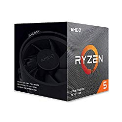 AMD Ryzen 5 3600X 6-Core, 12-Thread Unlocked Desktop Processor with Wraith Spire Cooler