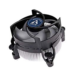 ARCTIC Alpine 12 CO – CPU Cooler for Intel Sockets for Continuous Operation, with 92 mm PWM Fan, up to 100 Watts Cooling Power, with Pre-Applied MX-2 Thermal Compound, Easy Installation