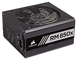 CORSAIR RMX Series, RM850x, 850 Watt, 80+ Gold Certified, Fully Modular Power Supply