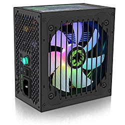 Power Supply 600W Semi Modular 80+ Bronze, GAMEMAX VP-600-M-RGB