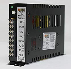 RetroArcade.us 16A Arcade Switching Power Supply, 133 Watt, 110-220V for Video Game cabinets Upright and Cocktail
