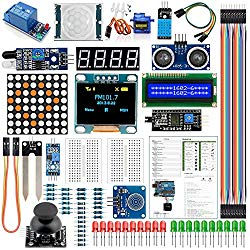 Arduino Kit UNO R3 Nano V3.0 Mega 2560 Mega 328 Project Starter Kit Compatible with Arduino IDE(English Tutorial)