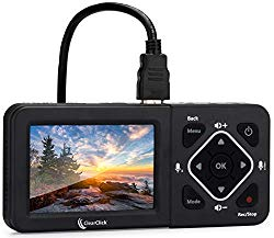 ClearClick HD Video Capture Box Ultimate – Capture Video from HDMI, RCA, VHS, VCR, DVD, Camcorders, Hi8