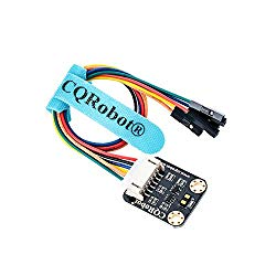 CQRobot VL53L1X Time-of-Flight (ToF) Long Distance Ranging Sensor for Raspberry Pi/Arduino/STM32. Accurate Ranging Up to 4m, I2C Interface. for Mobile Robot, UAV, Detection Mode, Camera, Smart Home.