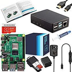 Raspberry Pi 4 4GB RAM – Aluminum XTG Starter Kit – Vilros