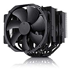 Noctua NH-D15 chromax.Black, 140mm Dual-Tower CPU Cooler (Black)