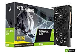 ZOTAC Gaming GeForce GTX 1660 6GB GDDR5 192-bit Gaming Graphics Card, Super Compact, ZT-T16600K-10M