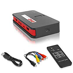 Capture Card Video Recording System – AV Game Recorder Converter, Full HD 1080P Digital Media File Creation System w/HDMI Support, Audio for USB, SD, PC, DVD, PS4, PS3, Xbox One, Xbox 360, Wii – Pyle
