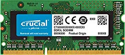 Crucial 8GB Single DDR3/DDR3L 1866 MT/s (PC3-14900) 204-Pin SODIMM RAM Upgrade for iMac (Retina 5K, 27-inch, Late 2015) – CT8G3S186DM