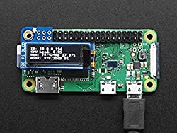 Adafruit [3527] PiOLED – 128×32 Monochrome OLED Add-on for Raspberry Pi