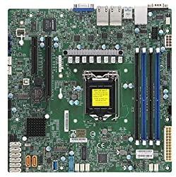 Supermicro MB MBD-X11SCH-LN4F-O S1151 Ci3 Celeron E-2100 C246 128G PCIE mATX