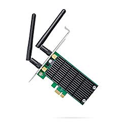 TP-Link AC1200 PCIe Wireless Wifi PCIe Card | 2.4G/5G Dual Band Wireless PCI Express Adapter | Low Profile, Long Range Beamforming Heat Sink Technology | Supports Windows 10/8.1/8/7/XP (Archer T4E)