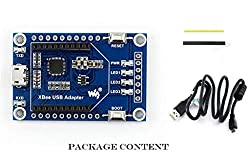 XBee USB Adapter, UART Communication Board Module Xbee USB Interface Easy to Program/Configure The XBee Modules